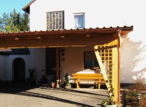 Carports, Pergolen, Vordächer, Balkone